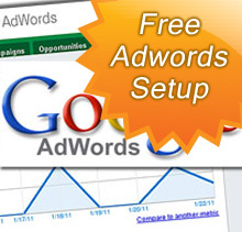 Free Adwords campaign setup with every new website