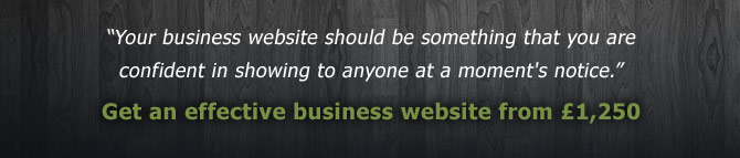 Effective Business Websites