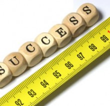 Measuring success in small steps