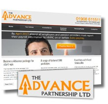 New responsive website for The Advance Partnership