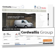 New Drupal website for Cordwallis