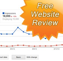Free review of your existing website